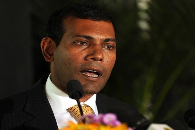 A file photo of MDP leader Mohamed Nasheed. MDP asked supporters to join peaceful demonstrations, threatening more unrest in Maldives that has faced more than a year and half of uncertaint. Photo: AFP (AFP)