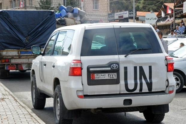 Un Chemical Weapons Inspectors Back In Damascus Livemint