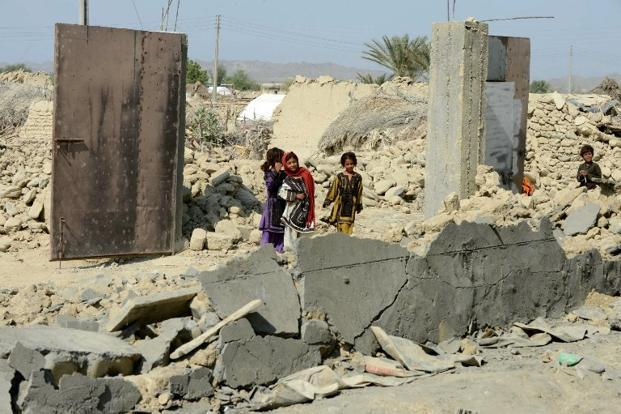 pakistan struck by another earthquake  tremors felt in
