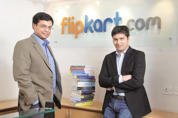 Flipkart's Sachin Bansal (left) and Binny Bansal. Photo: Hemant Mishra/Mint (Hemant Mishra/Mint)