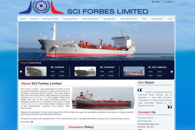 Shipping Corp. to exit chemical tankers JV with Shapoorji ...