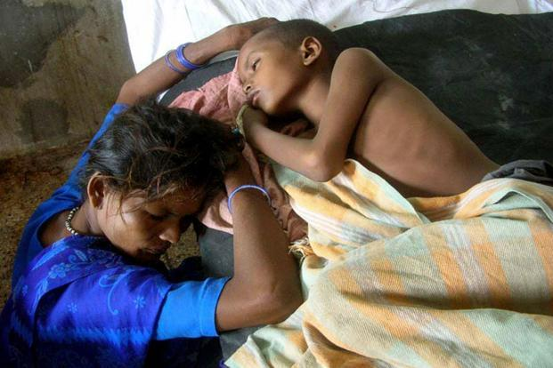 The disease is responsible for 50,000 clinical cases and approximately 15,000 deaths a year. Japanese encephalitis has infected more than 10 million children globally, according to the World Health Organization (WHO). Photo: AFP (AFP)