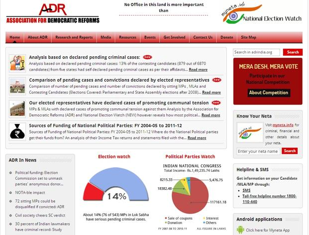 In terms of assets, 264 out of the 607 analysed MLAs had assets worth more than `1 crore, according to the ADR release.<br />