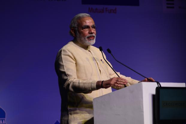 A file photo of Narendra Modi. Photo: Pradeep Gaur/Mint (Pradeep Gaur/Mint)