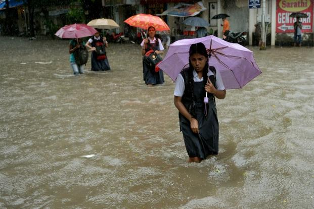 In the commercial capital Mumbai, light rain is expected on Friday but will reduce thereafter. Photo: AFP (AFP)
