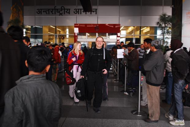 At present, India extends the visa-on-arrival facility to citizens of 11 countries. Photo: Pradeep Gaur/ Mint