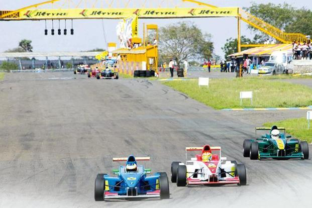 The Kari Motor Speedway at Chettipalayam in Coimbatore. Photographs by Jackson J/Mint
