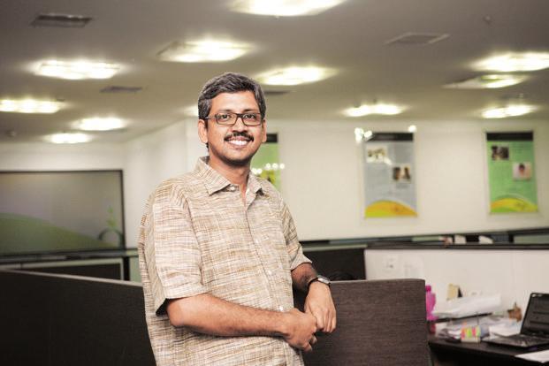 Ganesh at his office in Tharamani, Chennai. Photo: Sharp Image
