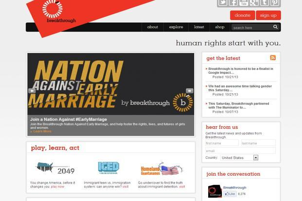 Breakthrough, a human rights organization, launched a 'Nation Against Early Marriage' campaign on Monday in New Delhi.