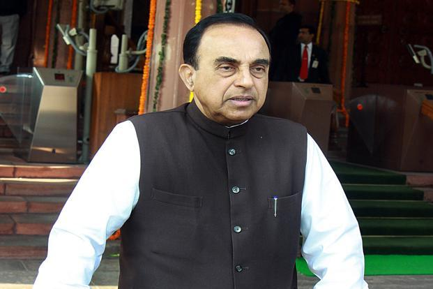 A file photo of BJP leader Subramanian Swamy. Photo: HT