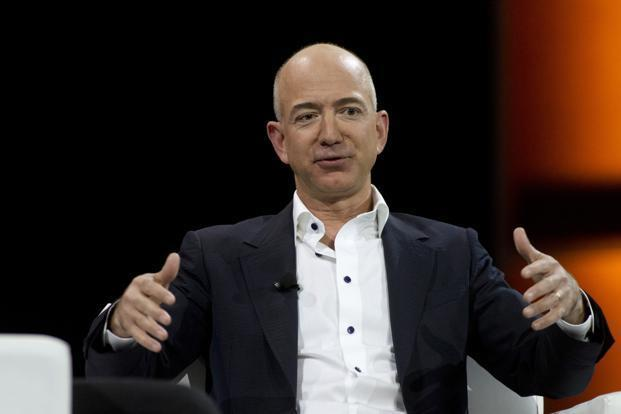 Amazon.com chief executive officer Jeff Bezos. Photo: Reuters