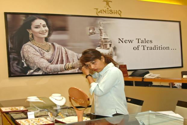 A file photo of Tanishq's showroom. Photo: Bloomberg