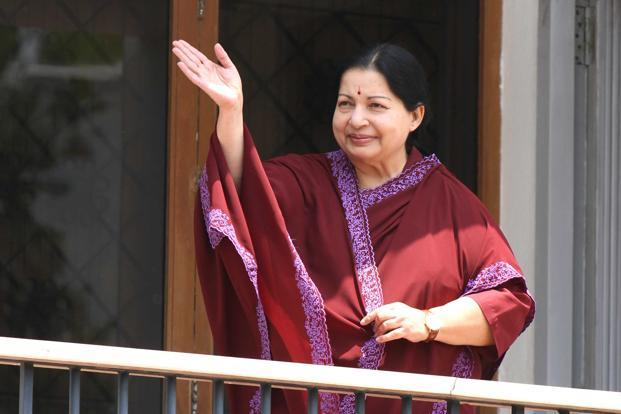 Tamil Nadu chief minister J. Jayalalithaa. Photo: HT