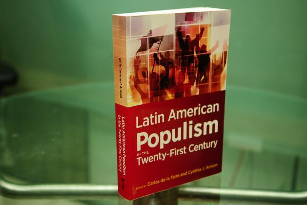 The work identifies three distinct phases in the history of populism in Latin America that essentially capture the widely varied forces at work in fostering the region's political instability—evinced most prominently in the form of frequent revolutions.