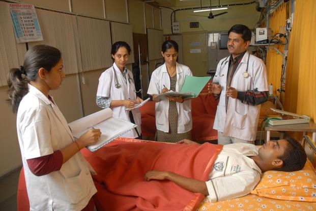 There is ample evidence suggesting that highly skilled, trained and empowered nurses and allied health professionals can be the leaders of change, playing a critical role in improving the reach of health services in underserved areas. Photo: S. Kumar/Mint