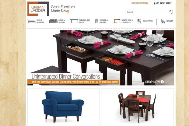 Online furniture store urban ladder raises 5 million livemint Urban home furniture online