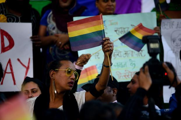 The Supreme Court decision sets aside a landmark Delhi high court decision in 2009 which had overturned the colonial-era ban on homosexual sex.  Photo: Pradeep Gaur/Mint