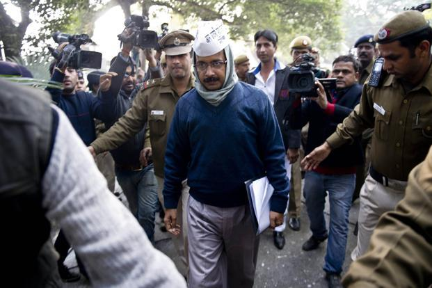 Aam Aadmi Party convenor Arvind Kejriwal. Photo: Prakash Singh/AFP