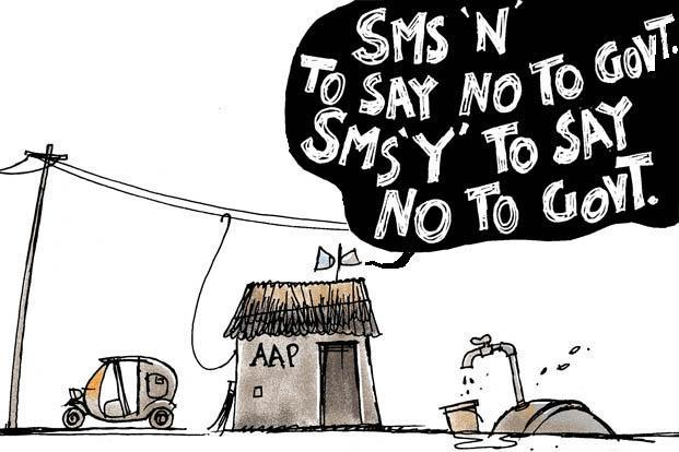 On Aam Aadmi Party and Delhi elections