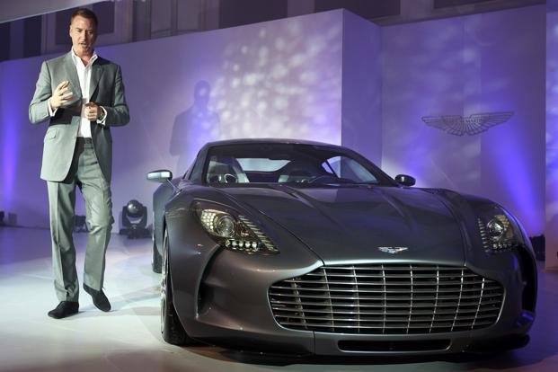 Daimler Agrees To Take 5 Stake In Aston Martin Livemint