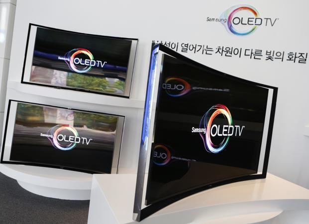 Samsung, LG to unveil 105-inch curved TVs - Livemint