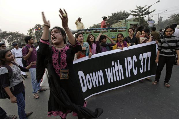The government's petition questioned the Supreme Court's silence on whether Section 377 is vague, arbitrary and hence violative of the right to equality, as well as its failure to decide whether it violates right to privacy. Photo: AP