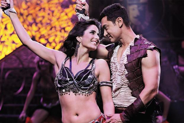 Katrina Kaif and Aamir Khan in 'Dhoom:3' which is being hailed as a slicker film than its previous counterparts in terms of style