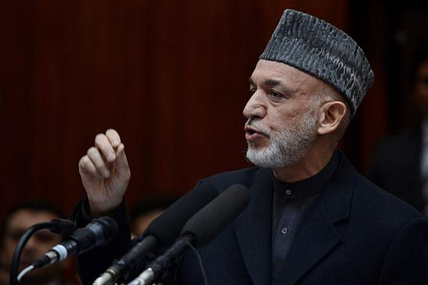 Afghan President Hamid Karzai, who was in Delhi last week, is refusing to sign a security agreement that would allow the US to keep a limited number of troops in Afghanistan beyond 2014. Photo: AFP