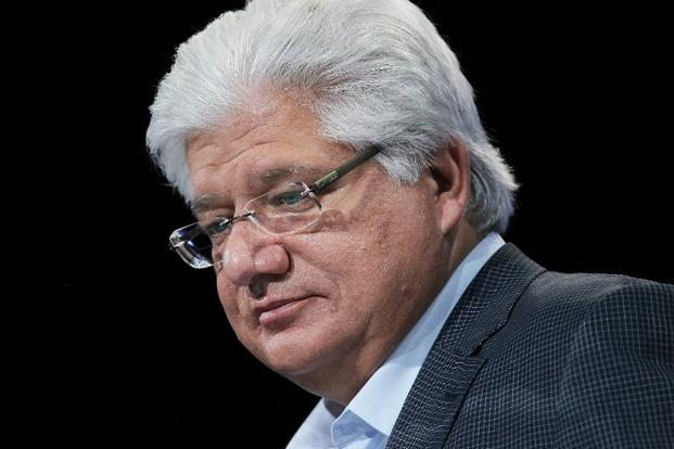 Mike Lazaridis now owns 26.3 million shares, or 4.99% of Blackberry's outstanding shares. Photo: AFP