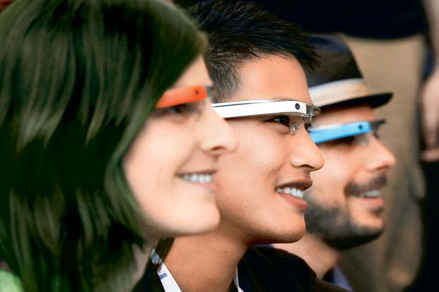 Google Glass's launch next year is expected to lead to a major expansion in the scope and applications of wearable technology. Photo: Justin Sullivan/Getty Images/AFP
