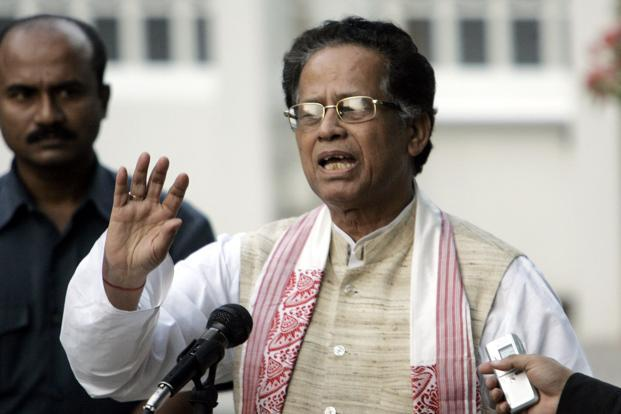 Assam chief minister Tarun Gogoi. Photo: AFP