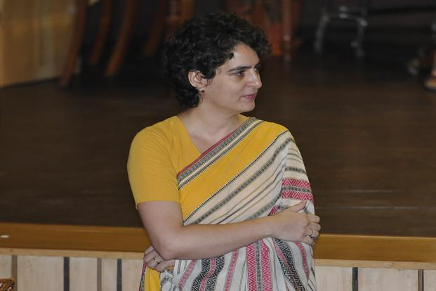 Priyanka Gandhi's role in the Congress party is expected to expand gradually, according to senior Congress leaders. Photo: Sonu Mehta/Hindustan Times