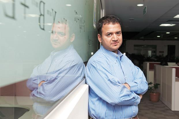 Dhiraj Rajaram, who worked as a consultant before founding Mu Sigma, became an entrepreneur to tap the value analytical decision making could bring to traditional sales techniques. Photo: Aniruddha Chowdhury/Mint
