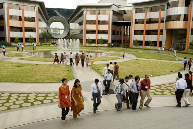 The headcount of Infosys's education and research division has been reduced by at least one-third and those employees have been transferred to other business units. Photo: HT