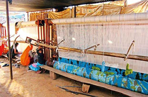 Some 28,000 weavers are associated with Jaipur Rugs today