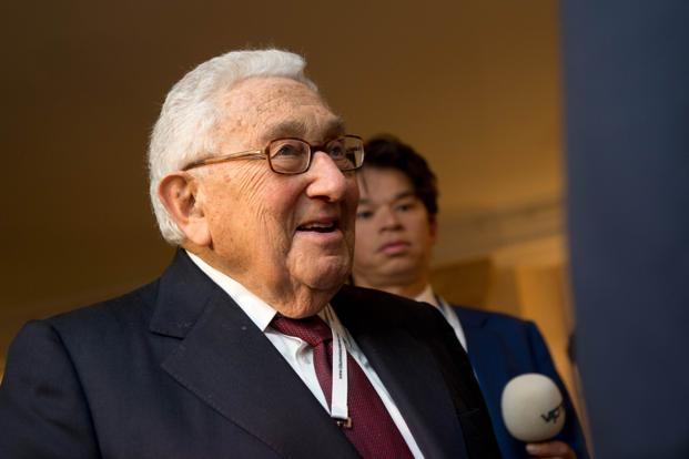 Former US secretary of state Henry Kissinger. Photo: AFP