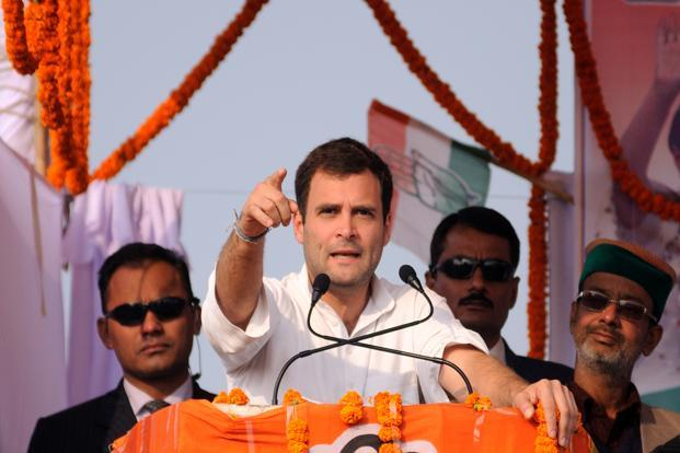 Congress vice-president Rahul Gandhi. Photo: Pradeep Gaur/Mint