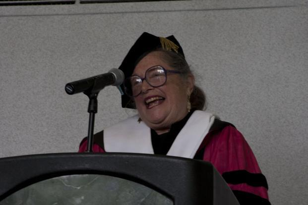 A file photo of Wendy Doniger. Photo: Miles Stepto/Shimer College/Wikimedia Commons