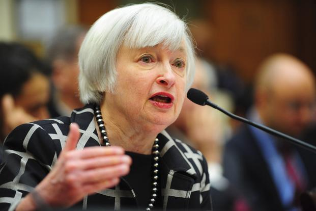 US Federal Reserve chairman Janet Yellen testifies before a House Financial Services Committee hearing on 'Monetary Policy and the State of the Economy,' in Washington on Tuesday. Photo: Reuters