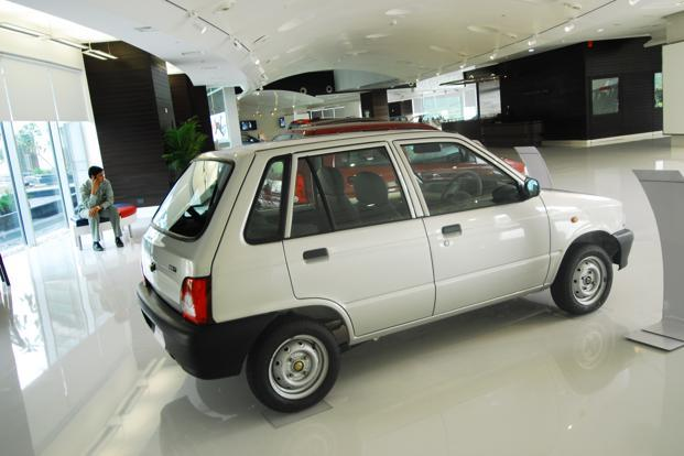 More than 2.7 million units of the Maruti 800 have been sold since it was launched in India in 1983. Photo: Pradeep Gaur/Mint