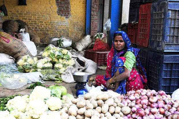Vijay Mahajan, who pioneered microlending in the 1990s by setting up Basix, India's oldest microfinance institution, says even a woman who sells vegetables on the roadside is an entrepreneur but a bank may not recognize her as one and give money. Photo: Ramesh Pathania/Mint