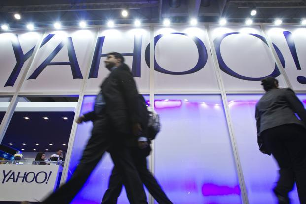 Yahoo last week said that it will stop letting people sign into its online services using credentials from rival Internet titans Facebook or Google. Photo: Bloomberg