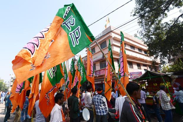 Many aspects of these elections are forgone conclusions as almost everybody expects the BJP to emerge the single largest party. Photo: Ramesh Pathania/Mint