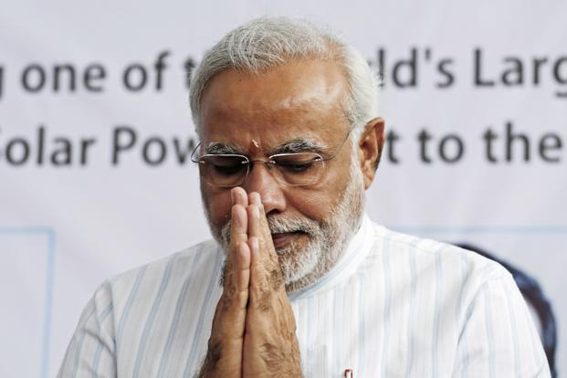 Narendra Modi, prime ministerial candidate of the Bharatiya Janata Party (BJP). Photo: Bloomberg