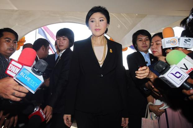 Thai Prime Minister Yingluck Shinawatra. Photo: Bloomberg