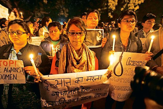 While the protests after the Delhi gang-rape petered out as promises of stricter laws were made, the discourse on gender did not. Photo: Hindustan Times