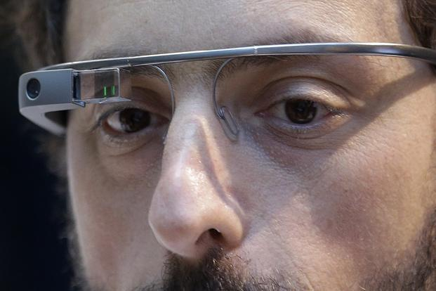 Weighing a little over 40 grams, Google Glass is a wearable computer that can surf the Internet, record audio, shoot video, perform searches, give directions using maps, check emails and appointments. Photo: AP