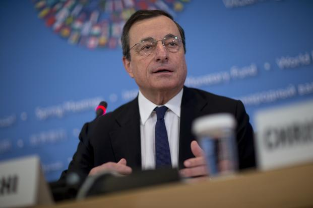 Mario Draghi, president of the European Central Bank (ECB). Photo: Bloomberg