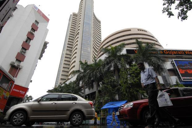 A file photo of the BSE. On Monday, 18 May 2009, benchmark equity indices hit the upper circuit within 30 seconds of the market opening for the first time after the results were declared, and trading was halted for two hours. Photo: Abhijit Bhatlekar/Mint