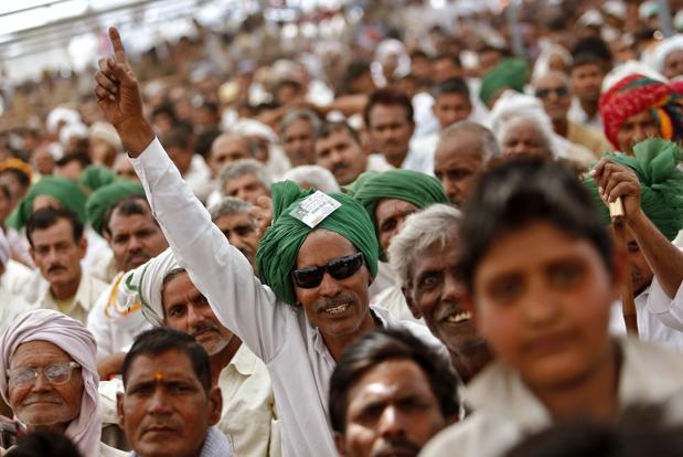 Goats, cable television, blenders, fans and gold are among freebies promised by Tamil Nadu's ruling AIADMK as it campaigns in national elections ending 16 May. Photo: Reuters